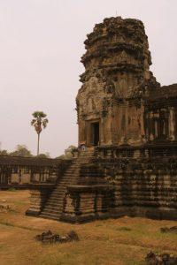 Angkor par grisaille