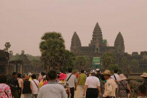 Angkor Wat envahi