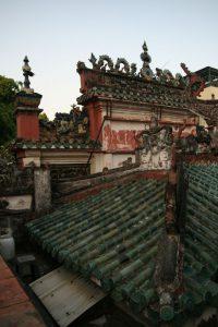 Toits de la pagode