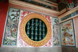 Façade d'une pagode