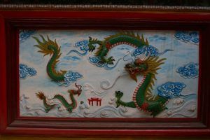 Fresque du dragon
