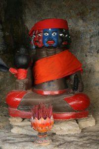 Statue à Kampong Trach