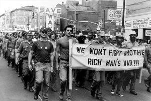 Manifestation anti-guerre