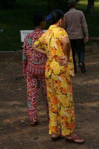 Pyjamas fleuris
