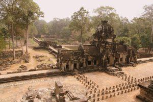 Vue depuis le haut du temple