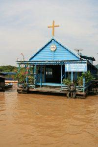 Eglise sur l'eau