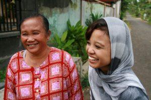 Diana et sa grand mère