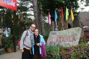 Choupi et Tibal à Datanla