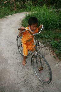 Vélo trop grand
