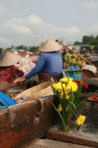 Fleurs et bâtelières