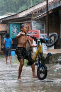 Biker indonésien