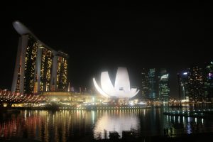 Marina Bay Sands et le Lotus