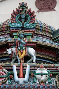 Krishna et son veau