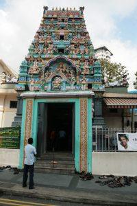 Entrée d'un temple hindou