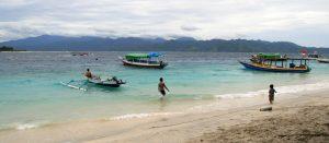 Bateaux et eau turquoise