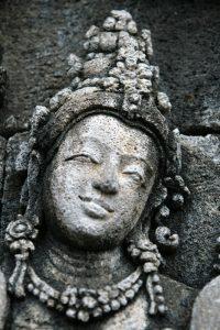 Détail de Borobudur