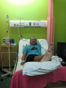 Ma chambre d'hôpital