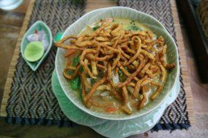 Khao Soy thaï