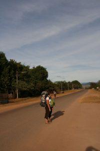 Choupi au Laos