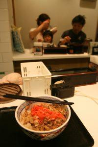 Porc bouilli sur lit de riz