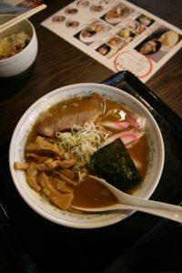 Ramen et natto
