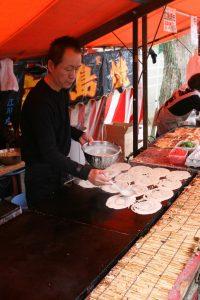 Okonomiyaki step 1