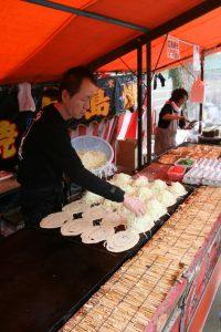 Okonomiyaki step 2