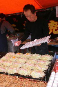 Okonomiyaki step 4