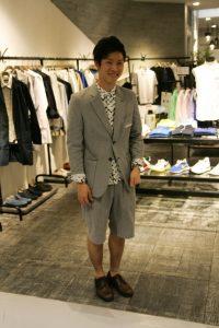 Vendeur dans Umeda