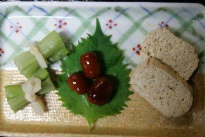 Tofu et légumes