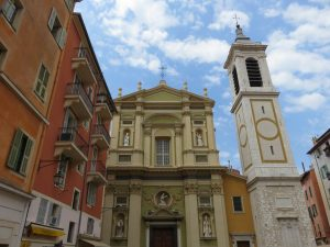 Eglise dans le vieux Nice