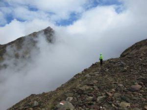 Face à la montagne