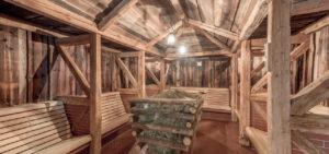 Sauna grange à foin